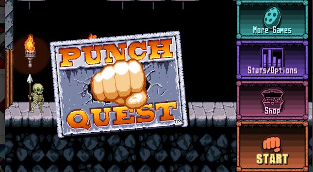 Punch Quest - أفضل ألعاب أندرويد و أيفون 2020 بدون أنترنت: أحسن 20 لعبة فيديو تعمل أوفلاين بدون نت.