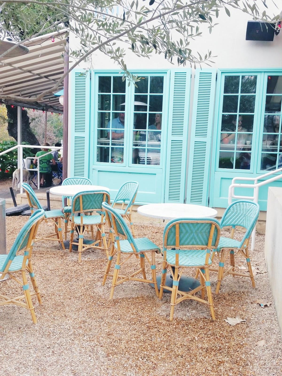 Blue Outdoor Furniture, February Favorites | The Bella Insider