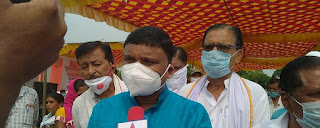 आयुष विभाग एवं राज्यमंत्री रामकिशोर कावरे ने किया हट्टा में उप तहसील कार्यालय का लोकार्पण