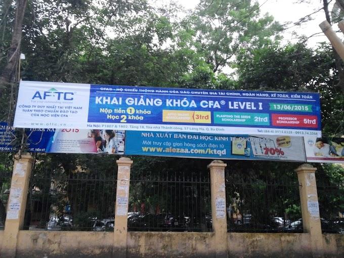 Treo Banner Giá Rẻ, Treo Băng Rôn Quảng Cáo, Treo Banner Tại Hà Nội