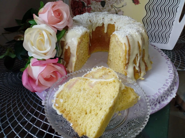 gotowana babka cytrynowa z jablkami wilgotna babka ciasto cytrynowe ciasto z jablkami babka z biala czekolada babka z garnka