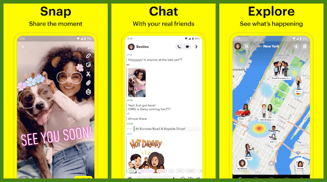 Download Snapchat Android And Iphone