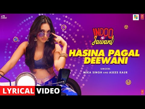 Hasina Pagal Deewani Lyrics - Mika Singh, Asees Kaur