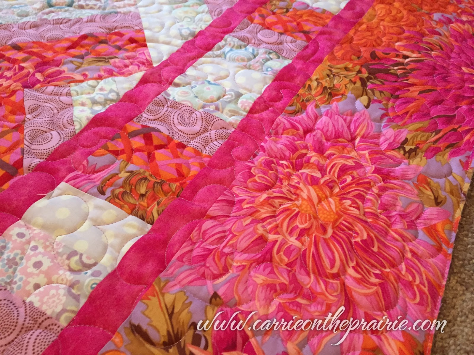 Carrie On The Prairie: Janet\'s Gigantic quilt