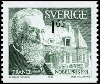 Sweden 1981 MNH, Anatole France Nobel Prize in Literature in 1921