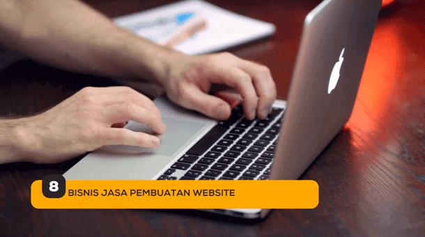 8. Bisnis Jasa Pembuatan Website