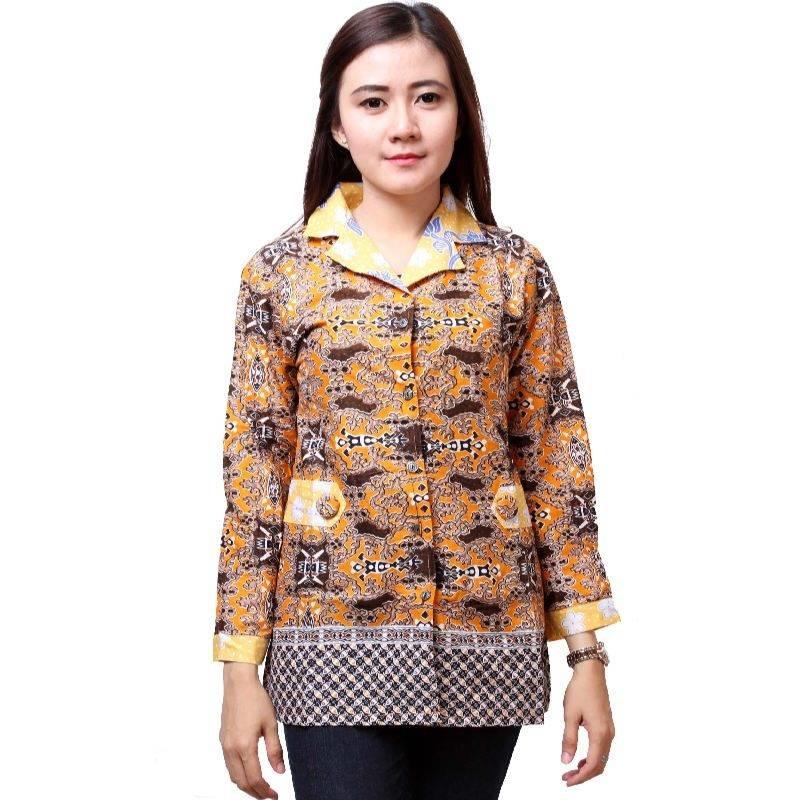 Desain Baju Batik Unik: 8 Model Blus Kantor Batik Modern, Desain Unik!