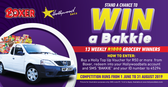 Hollywoodbets Sports Blog: Boxer: Win a Bakkie Promotion