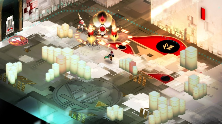 transistor free pc epic games store sci fi supergiant games cyberpunk