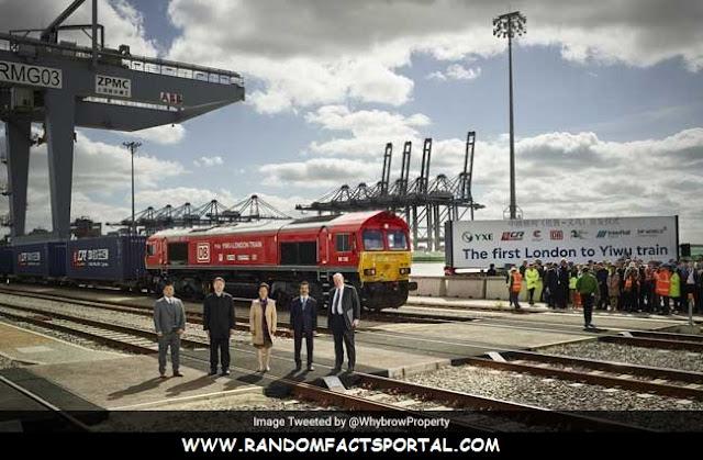 First Direct London – China Train   Completes 12,000 Kilometer Run