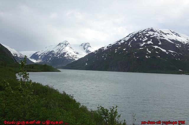 Portage Lake Whittier Alaska