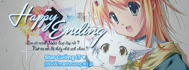 Share PSD Ảnh Bìa Facebook ''Happy Ending''