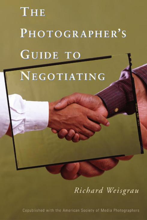 Portada libro: Guia de negociacion para fotografos