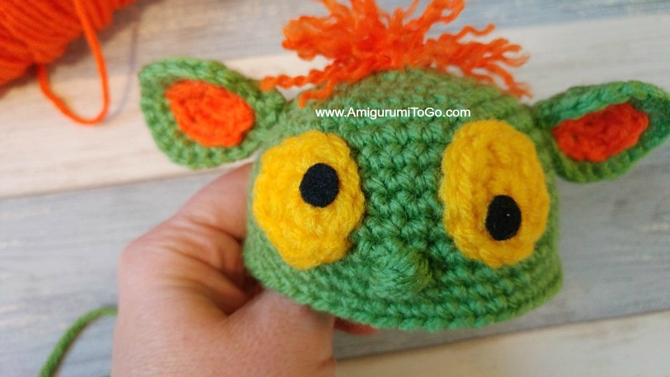 Crochet Eyes Tutorial - An Alternative To Plastic Safety Eyes ... | 540x960