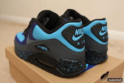 separation shoes 8144b 05eb0 Nike Air Max 90 Stash Customs