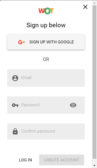 Cara Submit & Verifikasi Situs Web di MyWOT