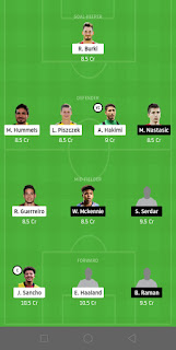DOR vs SCH Dream11 Team