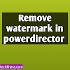 How to remove watermark in PowerDirector android (one step)
