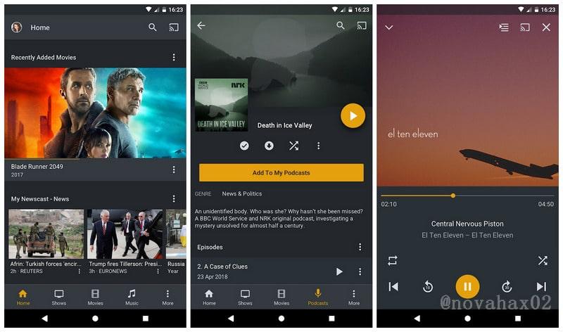 Plex for Android v7 21 0 12255 Cracked APK! [LATEST] | Novahax