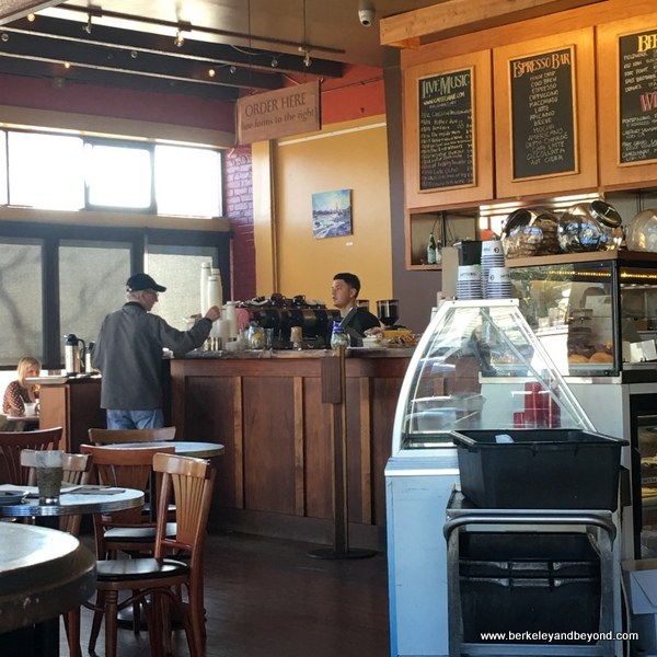 interior of Caffe Chiave in Berkeley, California