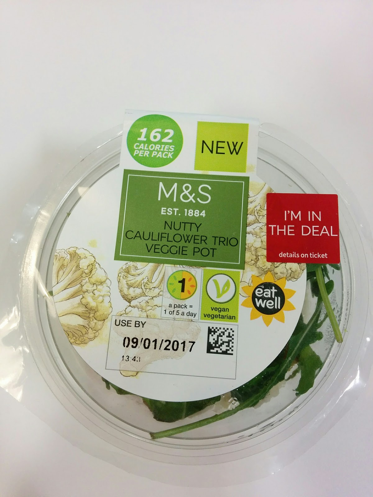 Vegetarian meal deals