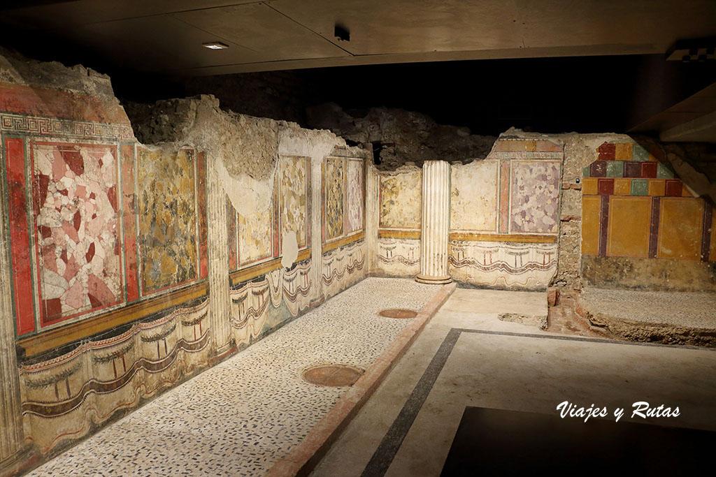 Área arqueológica romana, santuario Republicano de Brescia