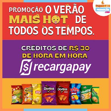 PROMOÇÃO - Ganhe 30 Reais em Credito Elma Chips
