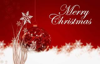 Kartu Ucapan Natal Merry Christmas 8003