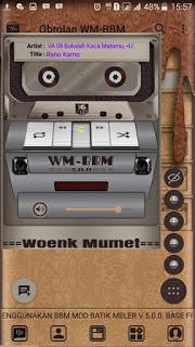 BBM Mod Batik Ala WM v3.3.1.24 Apk Clone Unclone Terbaru