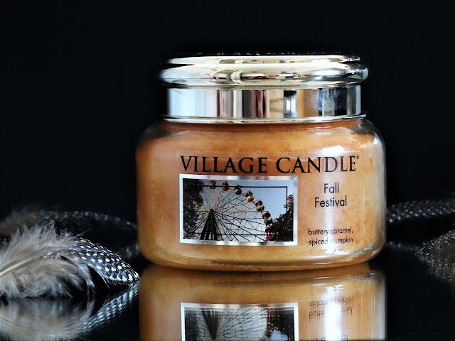 bougie village candle fall festival, avis bougie village candle, village candle france, village candle fall festival review, parfum d'ambiance automne