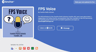FPS Voice: Get the Facts from the Franklin Public School Nurses (audio)