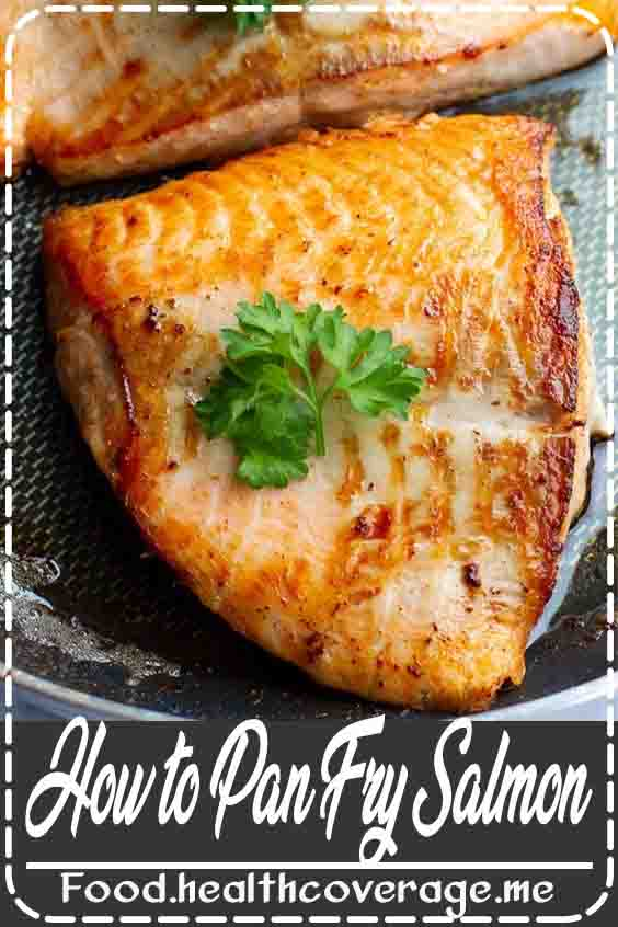 A basic and simple how to pan fry salmon makes this so easy!