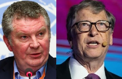 Dr. Michael Ryan and Bill Gates, two deceptive people under the umbrella of the World Health Organization