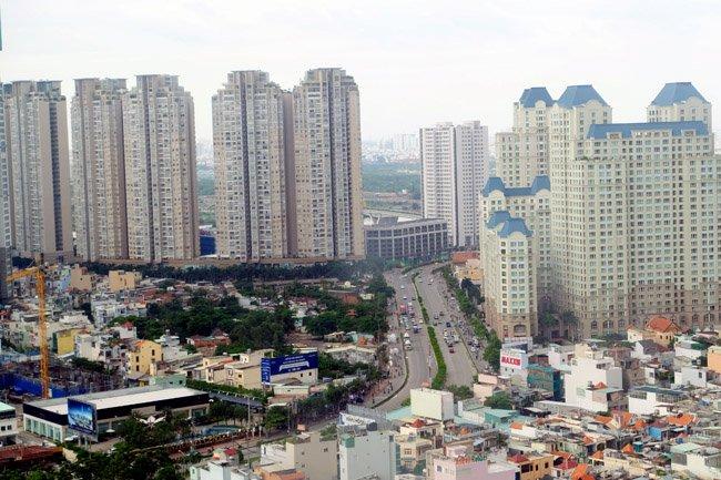 Vốn ngoại vẫn gia tăng vào thị trường bất động sản