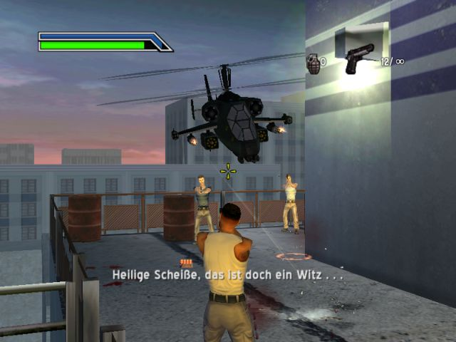 Bad Boys 2 games man fight halicopter