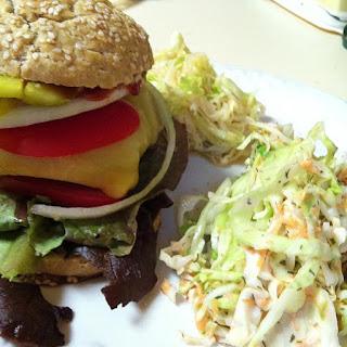 burgers with jicama slaw recipes