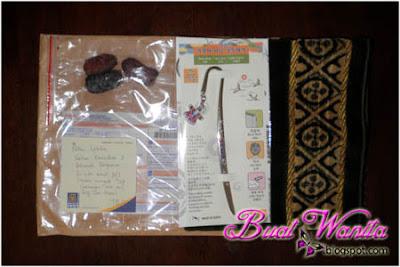 Dapat Gift Kali Pertama. Sayonara Buat Blogger Jari Manis @ JM. Kungjung Mengunjung Sesama Blogger. Terima Kasih Semua