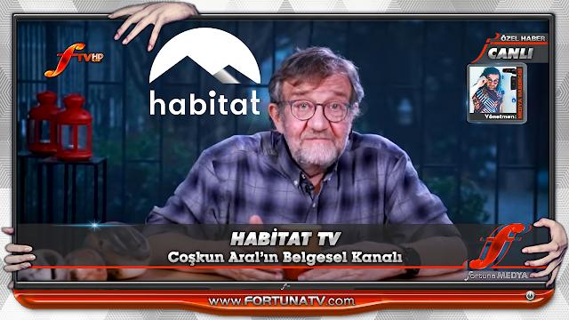 HABİTAT TV YAYINDA