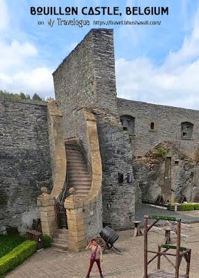 Chateau de Bouillon Castle Pinterest
