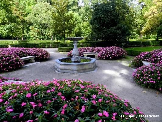 Parque el capricho, un jardín en Madrid, Alameda de Osuna