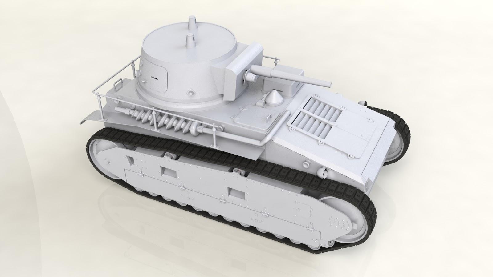Kuvahaun tulos haulle icm German Tank Leichttraktor Rheinmetall 1930