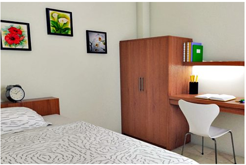 lihat dekorasi kamar kost minimalis yang kini menjadi idaman