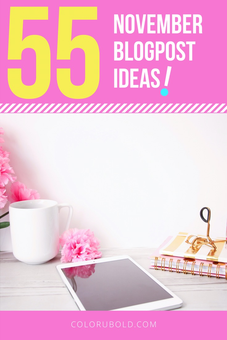 blog post ideas and writing prompts