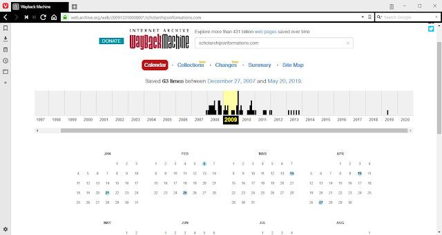 Hasil Pencarian Domain di Arcive.org
