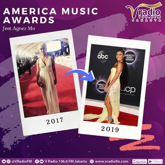 Agnez Mo di American Music Awards 2019-IGvradiofm
