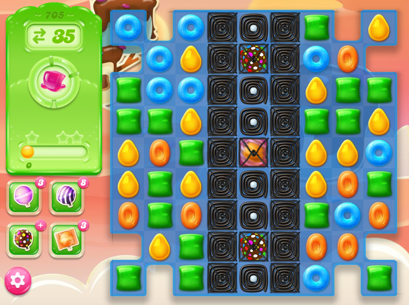 Candy Crush Jelly Saga level 705