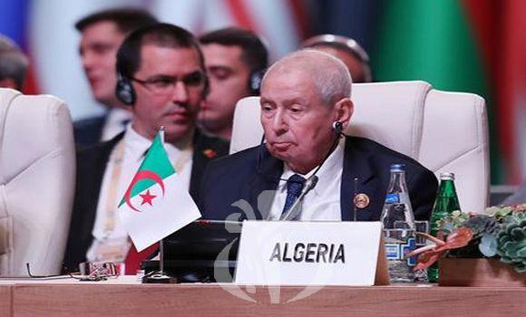 """Ben Saleh elogia la posición del """"Movimiento de Países No Alineados"""" en apoyo del derecho del pueblo saharaui a la autodeterminación, y pide al Secretario General de la ONU que acelere el nombramiento de un nuevo representante especial para el Sáhara Occidental."""