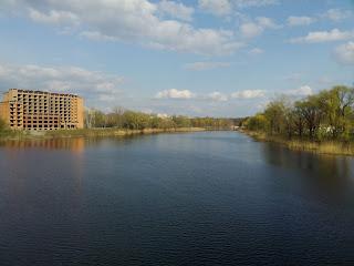Миргород. Река Хорол и строительство нового санатория