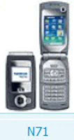 Nokia N71 RM 67 all firmware versions