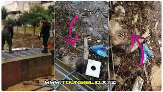 (بالفيديو و الصور) العثور على جثة متعفنة بالمنزه الثامن